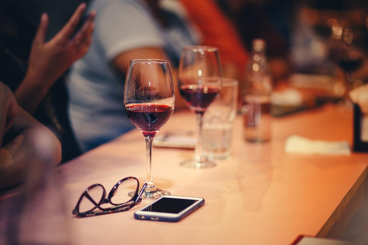 Application sur le vin